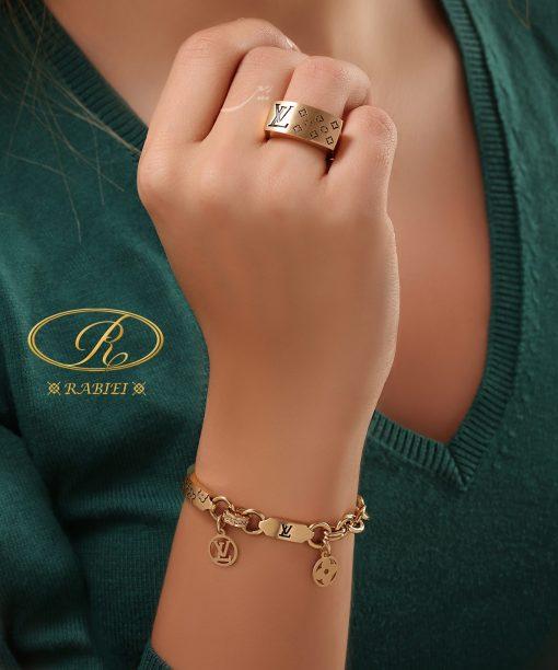ست دستبند و انگشتر لویی (لویی ویتون)