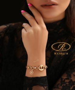 دستبند نیم النگویی دارال (کارتیه) - gold, gold-bracelet-%d8%af%d8%b3%d8%aa%d8%a8%d9%86%d8%af-%d8%b7%d9%84%d8%a7