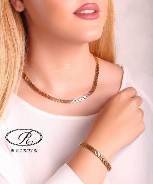 گردنبند و دستبند کارتیه تخت