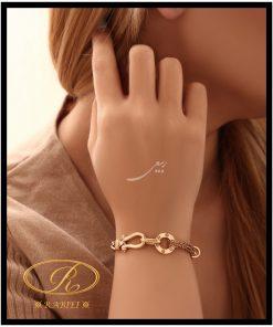 دستبند زنجیری کارتین