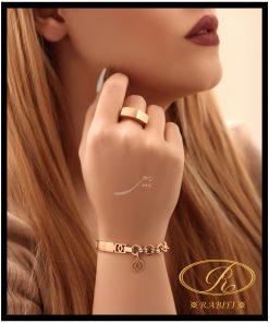 دستبند و انگشتر لویی ویتون