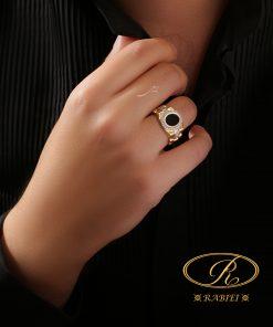 انگشتر مردانه مایکل - gold, gold-ring