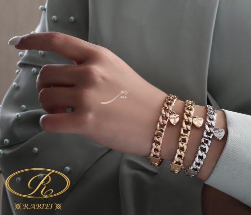 دستبند النگویی تیفانی قلب TIFFANY