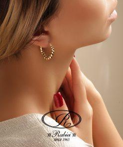 گوشواره سورال - gold-earring, gold