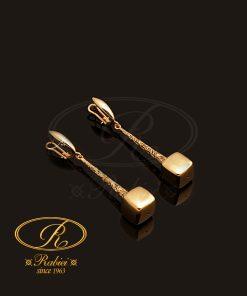 گوشواره کِلینا - gold-earring, gold