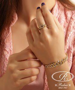 دستبند و انگشتر کارینو - gold, gold-bracelets-and-rings