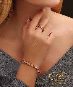 دستبند و انگشتر لوکس کلش د کارتیه - gold, gold-bracelets-and-rings