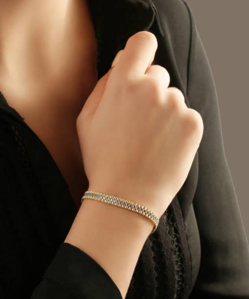 دستبند رولکس دو رنگ دایا - gold, gold-bracelet-%d8%af%d8%b3%d8%aa%d8%a8%d9%86%d8%af-%d8%b7%d9%84%d8%a7