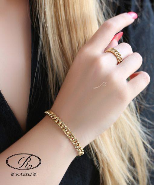 دستبند و انگشتر کارتیه نیلا