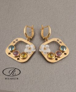 گوشواره بهارین S - gold-earring, gold