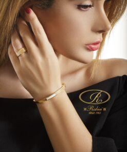 دستبند و انگشتر سادین