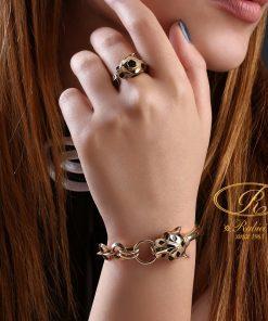 دستبند و انگشتر تایگر