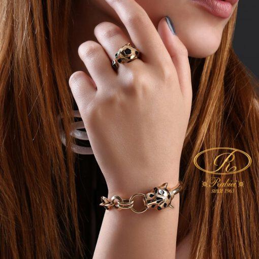 دستبند و انگشتر طلا