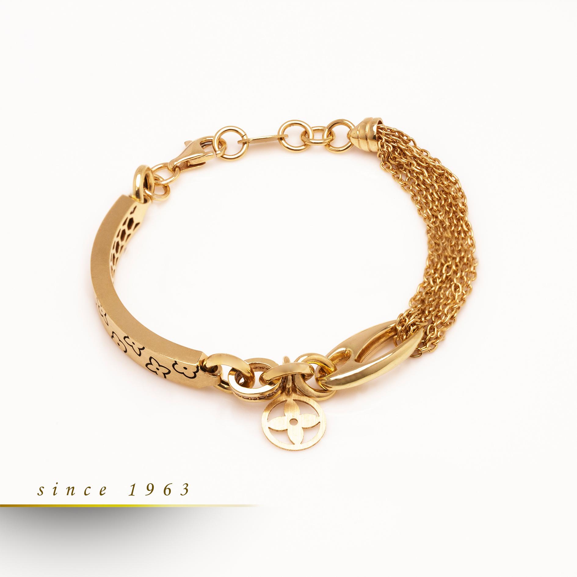 گالری ربیعی - خرید آنلاین طلا - خرید طلا لوکس -, , دستبند لنویز