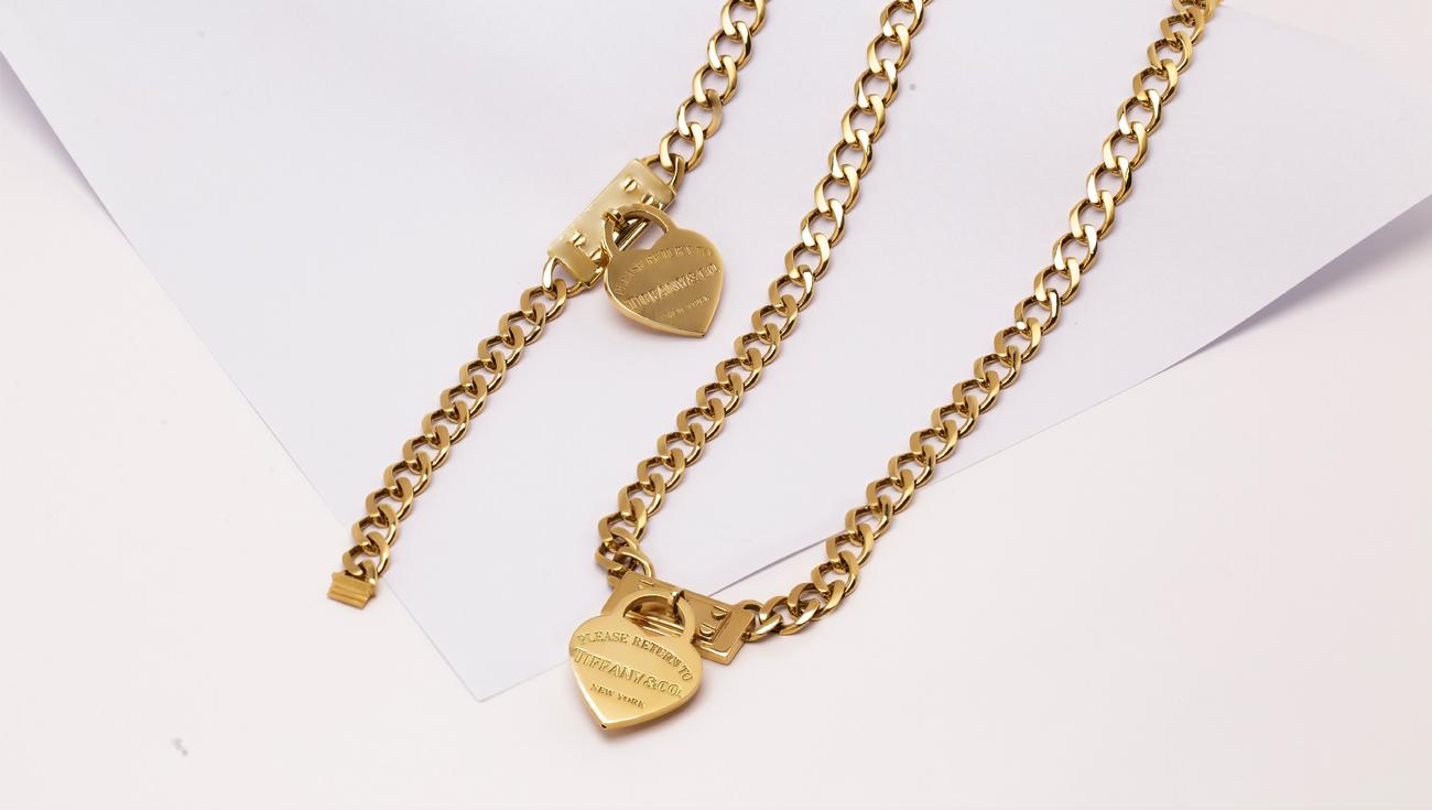 طلا و جواهرات تیفانی ، برندی با نهایت سادگی و زیبایی, news, گردنبند طلای تیفانی