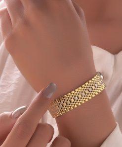 دستبند رولکس پهن