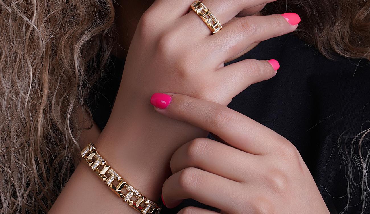 طرح جدید انگشتر و دستبند گالری ربیعی